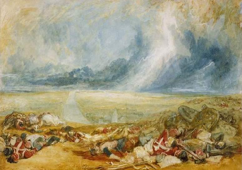 Поле при Ватерлоо. 1817
