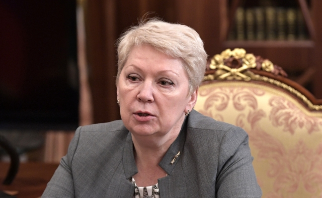 Министр образования и науки Ольга Васильева