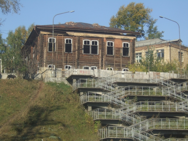 Здание библиотеки Юдина (до реставрации)