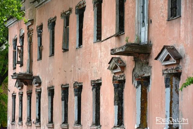 В воронежскую программу сноса аварийного жилья включили около 500 домов, но застройщики интереса не проявили