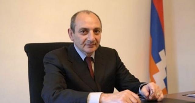 Президент Арцаха Бако Саакян обратился с посланием о Геноциде армян