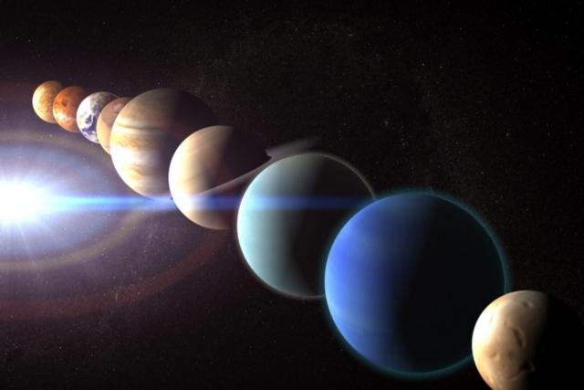 Москвичи смогут наблюдать парад планет в небе на майские праздники