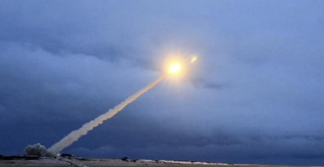 Испытания новой межконтинентальной ядерной ракеты