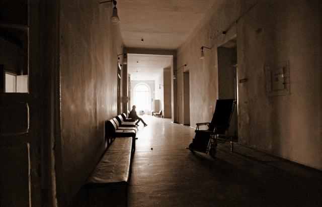 Больница коридор