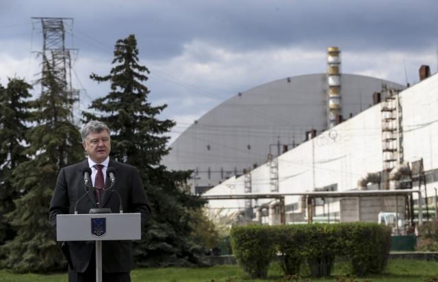 Порошенко хочет зарабатывать на зоне отчуждения в Чернобыле