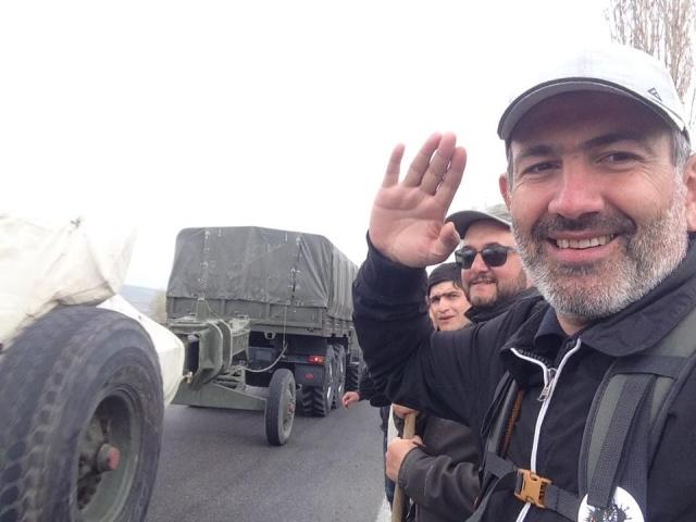 Лидер протестов в Армении все ещё считает, что Россия сохраняет нейтралитет