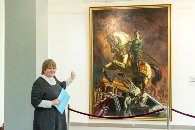 В Перми покажут запрещенный портрет маршала Жукова