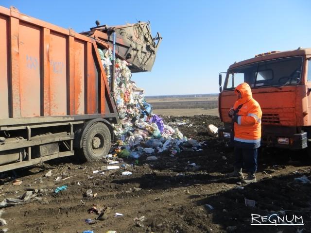 Контроль над разгрузкой мусора