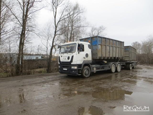 Московский мусоровоз