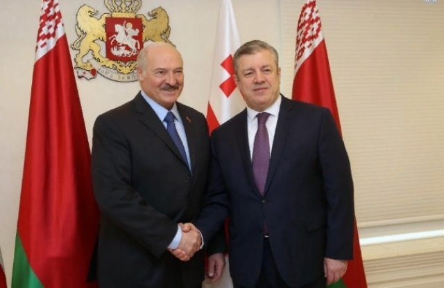 «Русский человек» Квирикашвили: как Лукашенко подвёл премьера Грузии