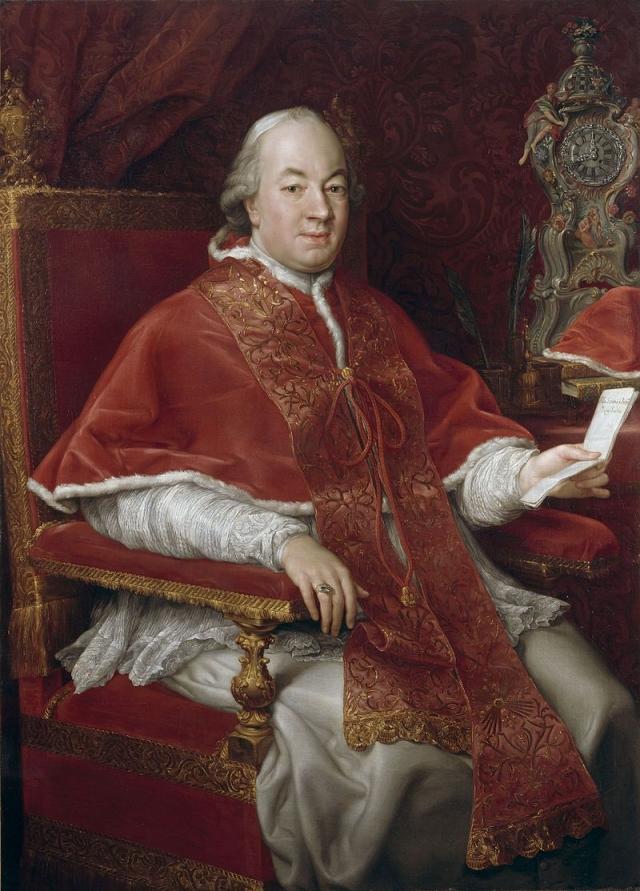 Помпео Батони. Портрет папы Пия VI. 1775