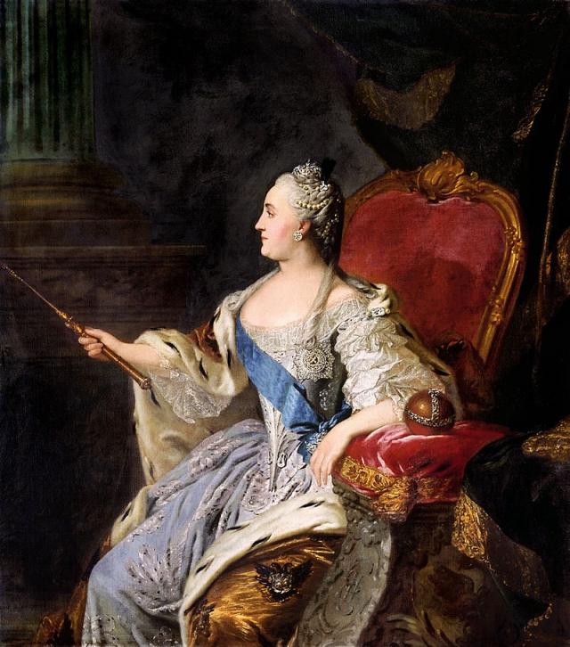 Фёдор Рокотов. Портрет Екатерины II. 1763