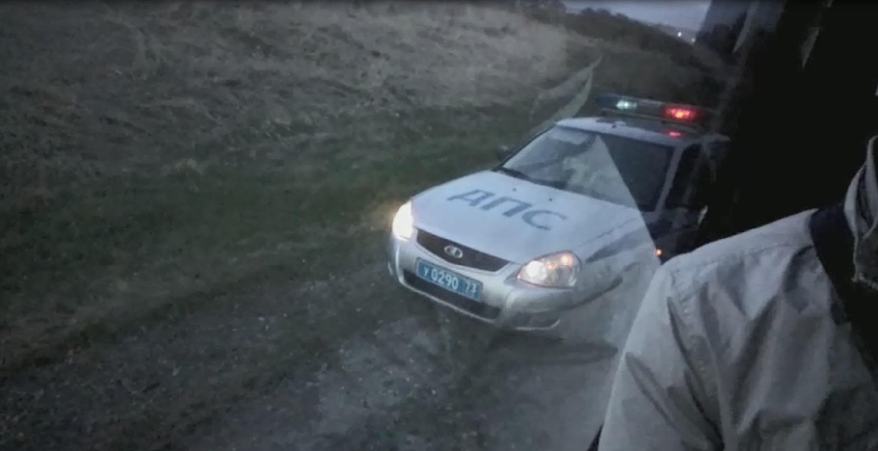 Задержание автобуса с интервьюерами Агентства по культурно-социальным исследованиям общества. Ульяновская область