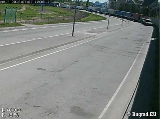 Более 200 фур скопилось в Калининградской области на границе с Литвой