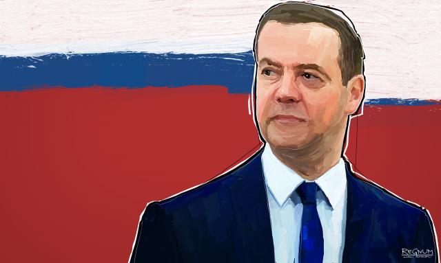 Путин  предложил кандидатуру Медведева на пост председателя правительства
