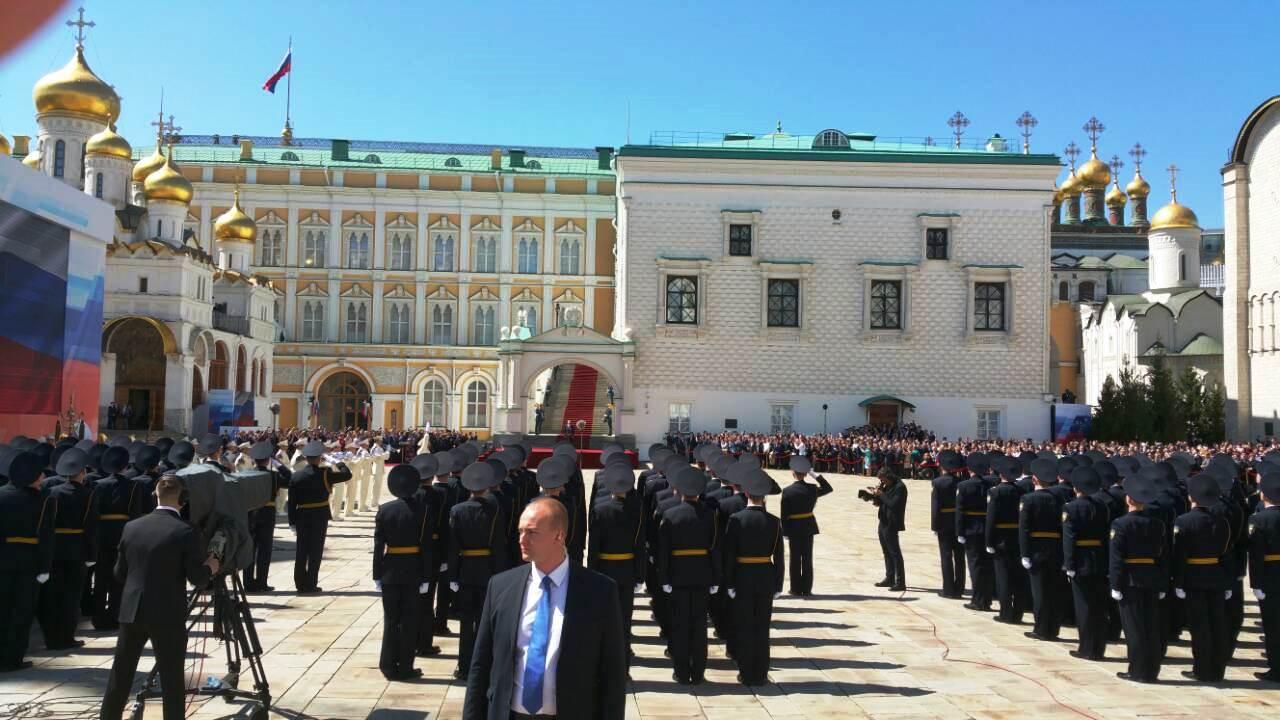 Церемония инаугурации. Фото Владислава Солдатова
