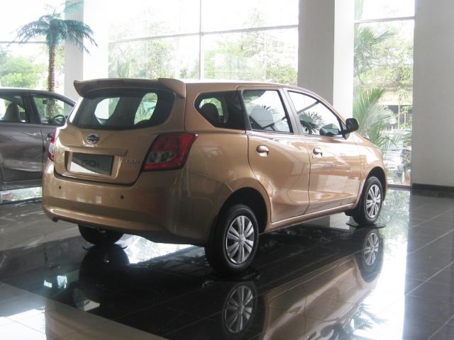 Datsun представил обновлённые модели GO и GO+