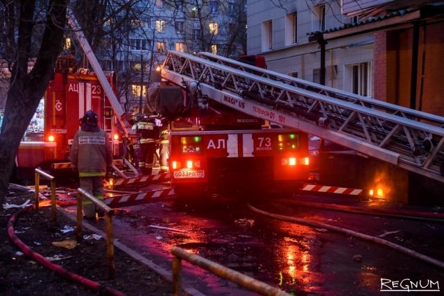 Следствие ищет виновных в пожаре во Дворце спорта в Красноярске