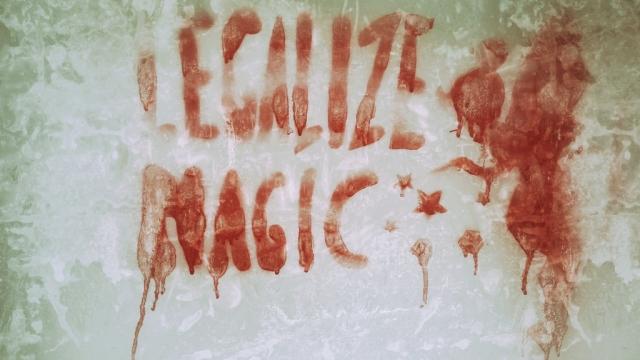 Граффити за легализацию лёгких наркотиков