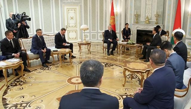 Китайская «СИТИК Групп» обещает Белоруссии новые проекты