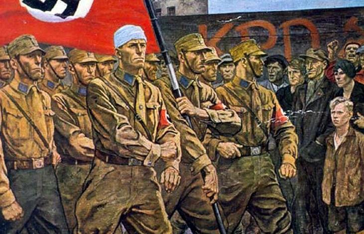 Штурмовые отряды НСДАП. «коричневорубашечники»
