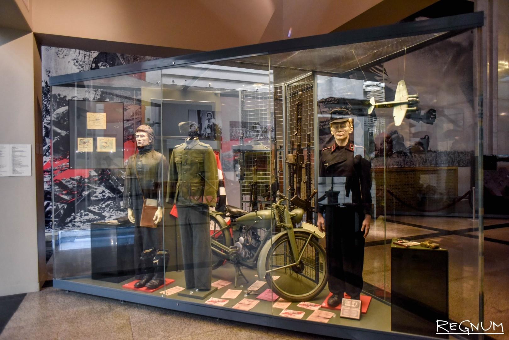Основная экспозиция музея «Подвиг и Победа великого народа»