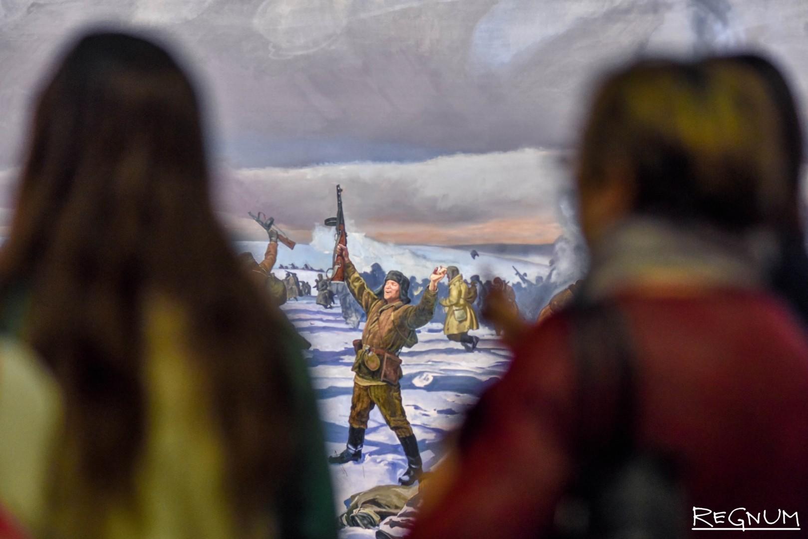 Диорама «Сталинградская битва»