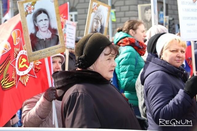 Новосибирск в День Победы