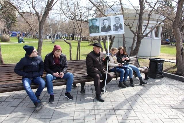 Новосибирск отмечает День Победы