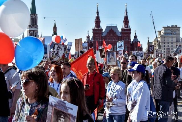 Москвичи помнят своих героев