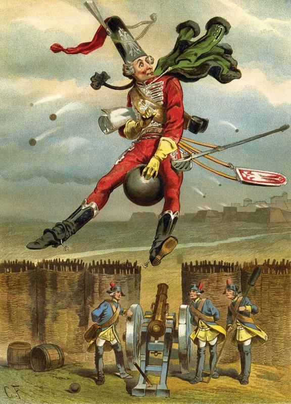 барон фон мюнхгаузен картинки наращивание искусственные реснички