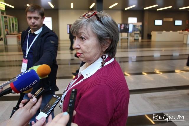 Директор новосибирской общественной организации «Пенсионеры онлайн» Татьяна Тарновская