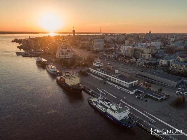 В Архангельске открылся фестиваль морского флота Арктики