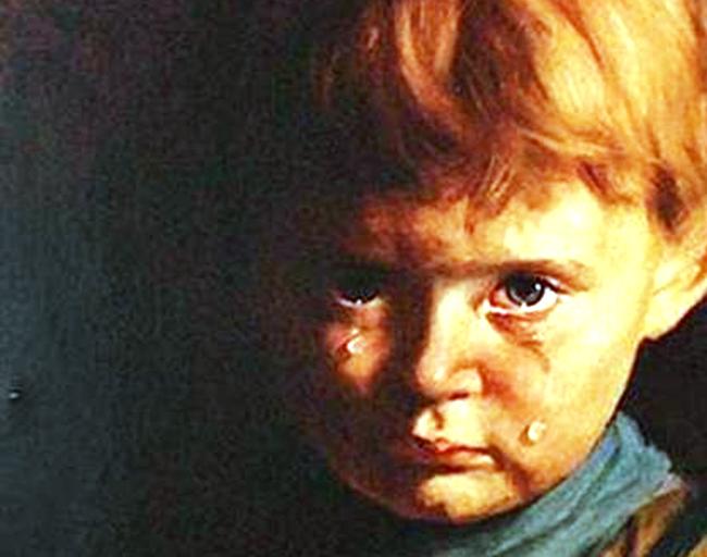 Джованни Браголин. Плачущий мальчик (фрагмент)