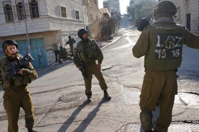 Израильские солдаты. Газа