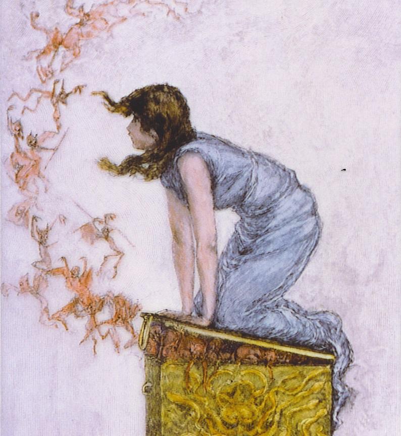 Фредерик Стюарт Чёрч. Открытый ящик Пандоры. XIX век