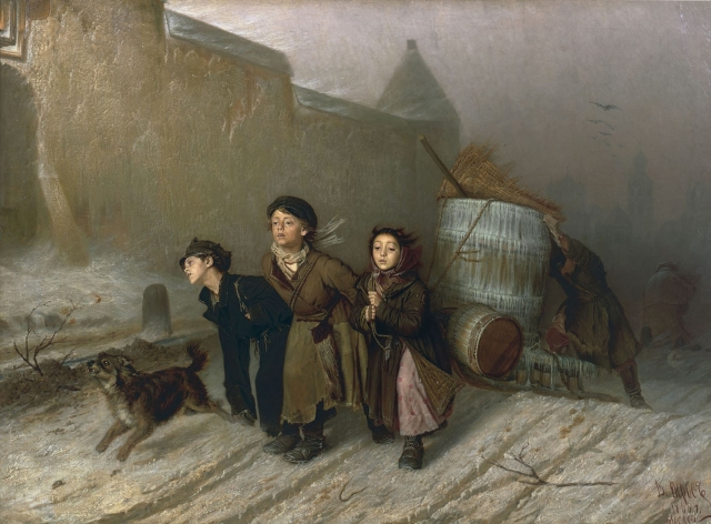 Василий Перов. Тройка. 1866