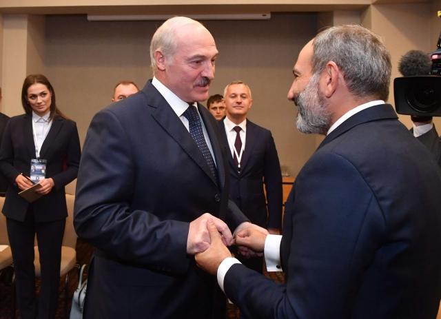 Лукашенко «ждал встречи» с Пашиняном