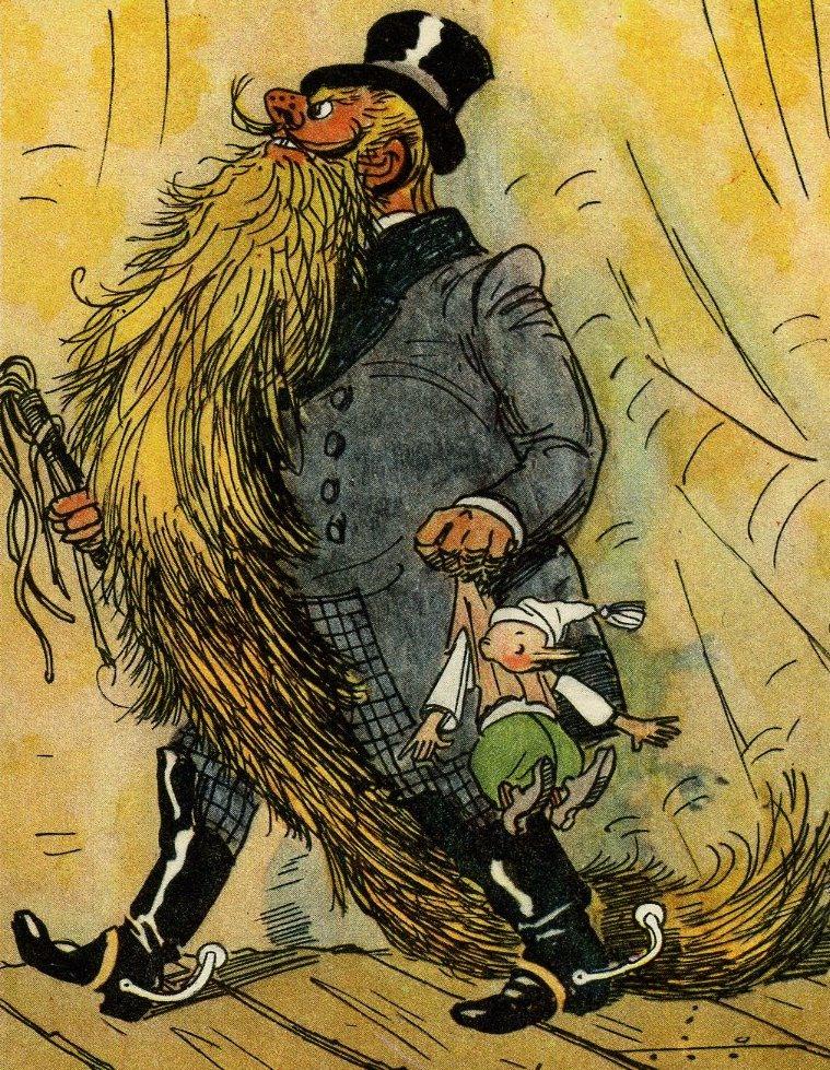Иллюстрации к книге «Золотой ключик, или Приключения Буратино». Художник Аминадав Каневский