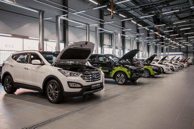 Дилерский центр Hyundai ГК «КАН АВТО»