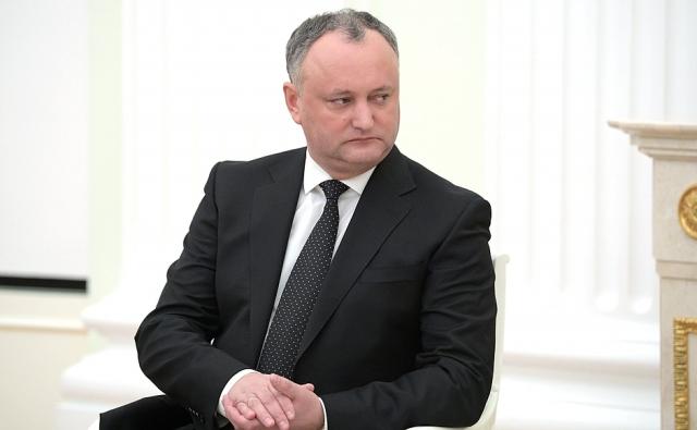Власти Молдавии дезавуировали Додона: в Сочи он выступал как частное лицо