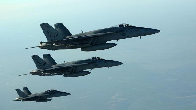 ВВС США на Сирией