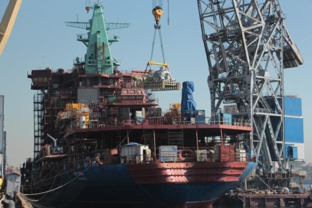 Последняя деталь с Кировского завода загружена на ледокол «Арктика»