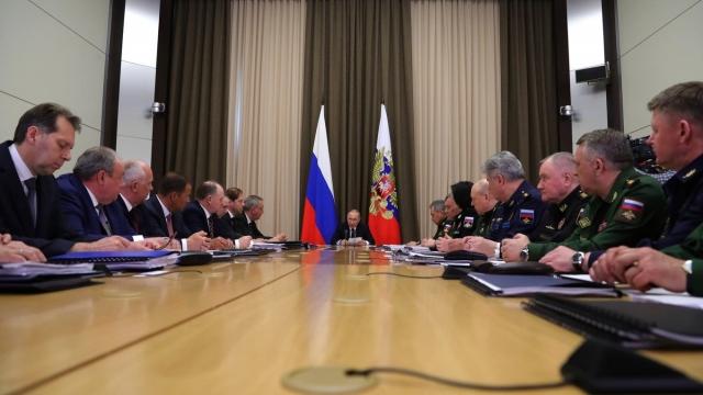 Путин провел второе совещание по оборонной тематике