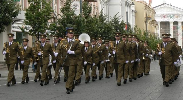 Литовские военные музыканты