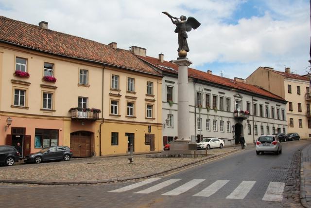 Городская площадь. Вильнюс
