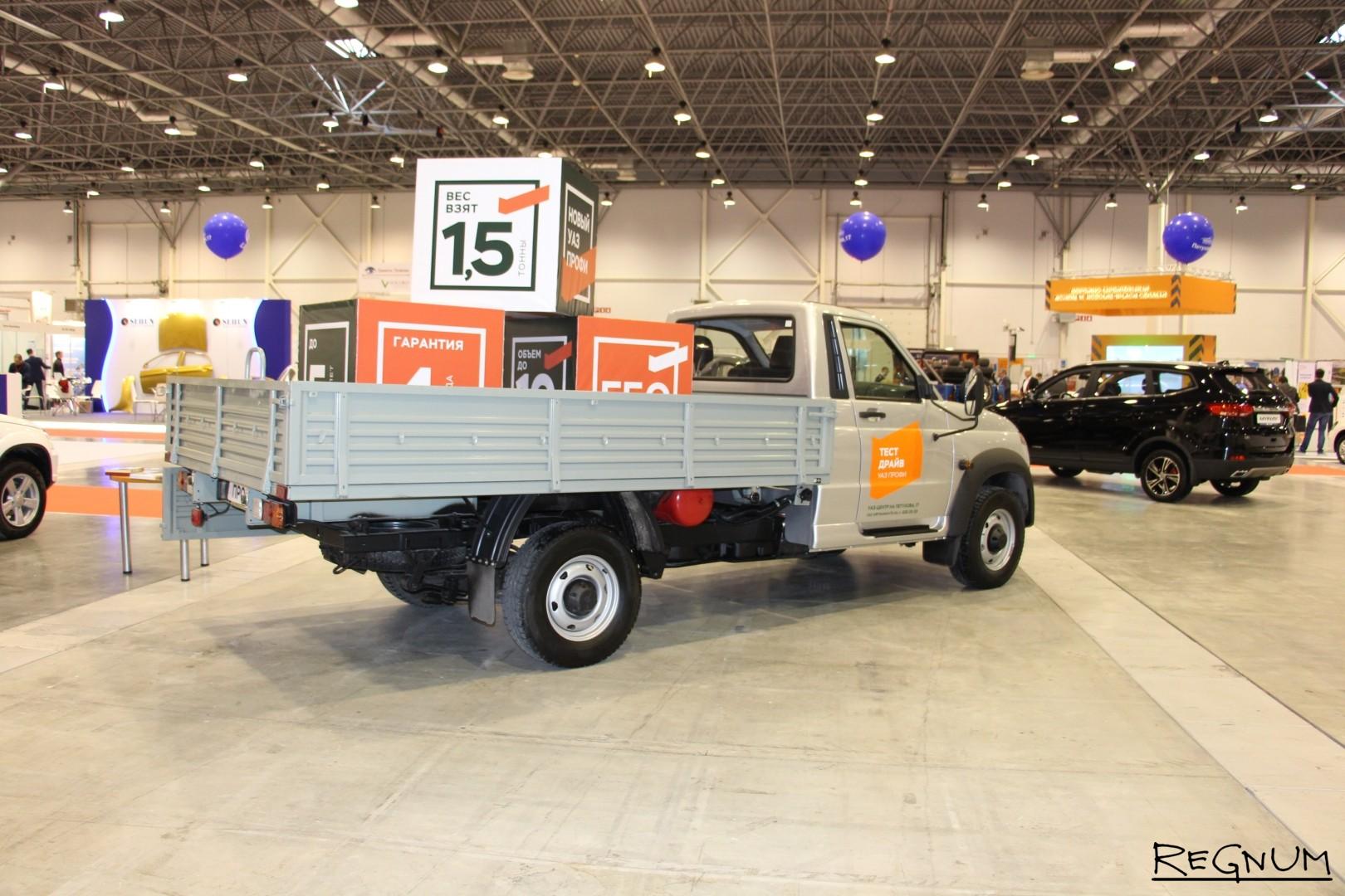 Выставка транспортно-логистических услуг, коммерческого транспорта и спецтехники в Новосибирске