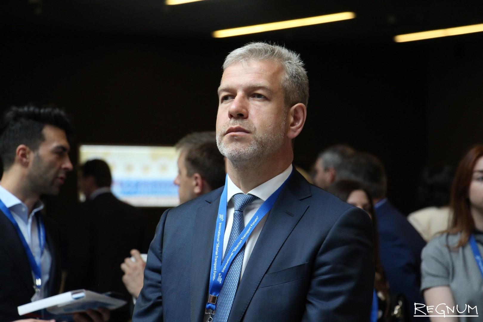 Участник Сибирского транспортного форума в Новосибирске