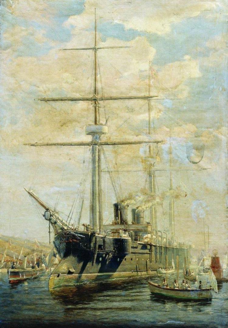 Алексей Боголюбов. Крейсер. 1880