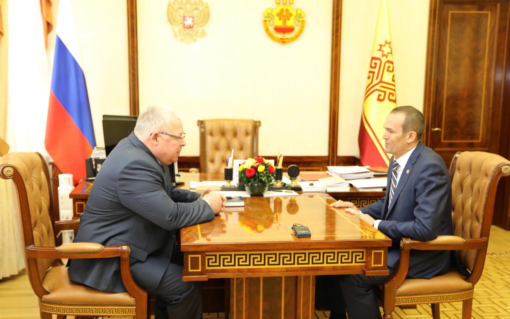 Михаил Игнатьев и Александр Иванов